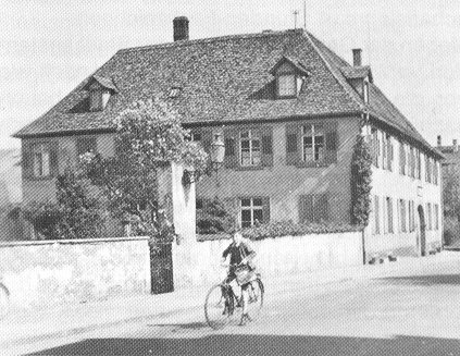 Aufnahme des ehemaligen Waisenhauses in Offenburg