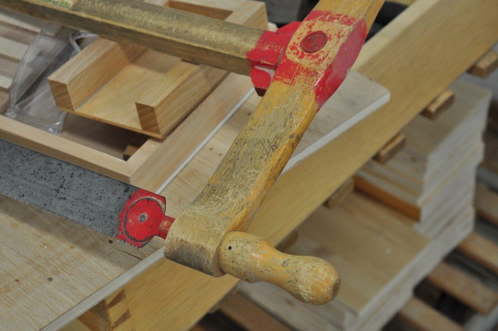 Foto zeigt traditionelle Handwerkzeuge für Schreiner