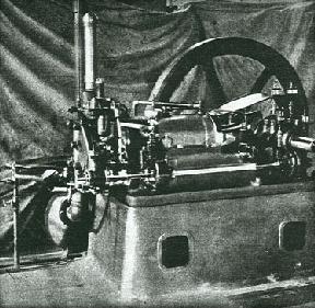 Das Foto zeigt eine Version des von FAH entwickeltne ersten kompressorlosen Ölmotors